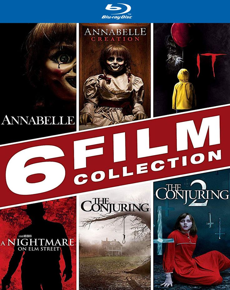 HALLOWEEN 6FILM COLLECTION ANNABELLE / ANNABELLE