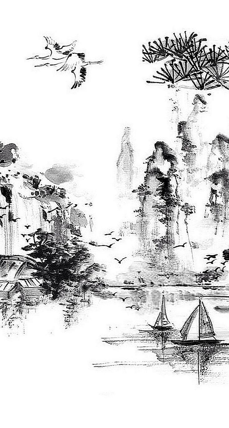 Chinese Painting wallpaper for iPhone. Lunar Chinese New