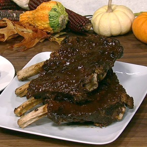 Tim Love's recipe for Beef Ribs - I promise you - easy ... and THE most delicious beef ribs that ever fell off the bone!  Highly recommend this recipe.