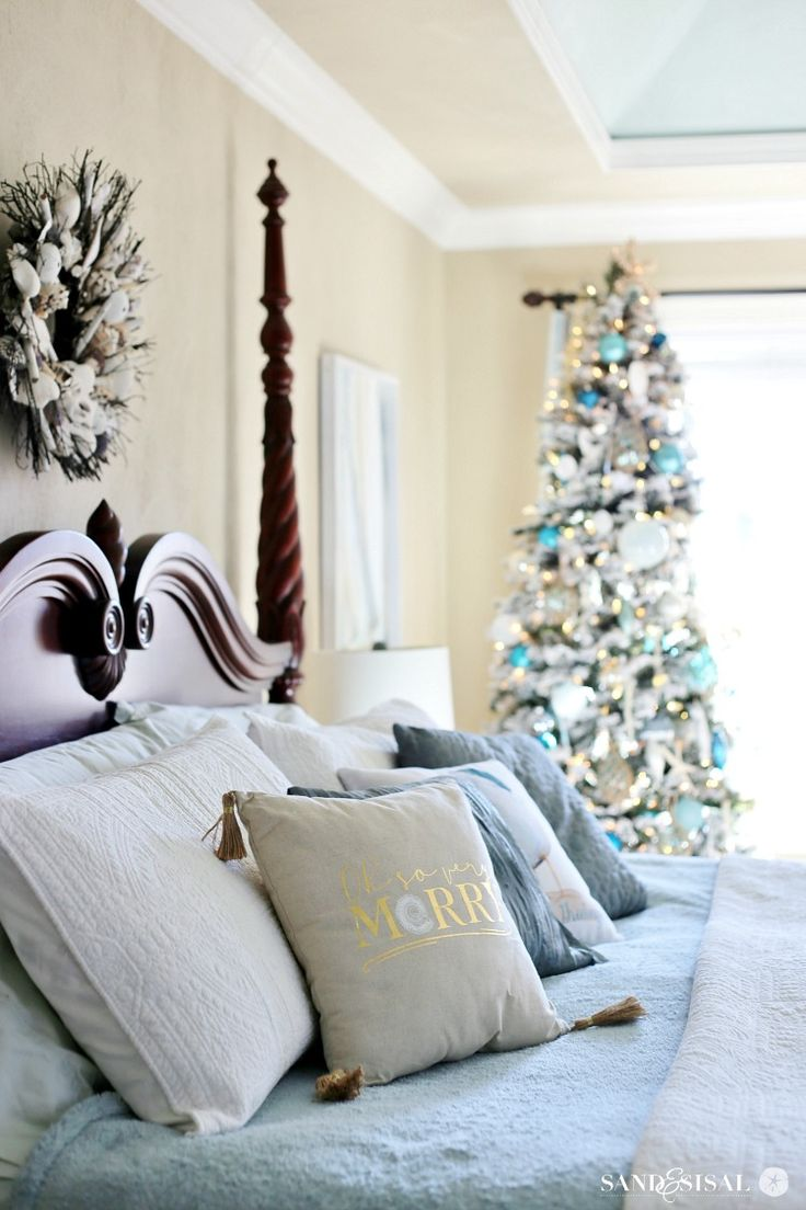 36 best christmas home tour images on pinterest | coastal