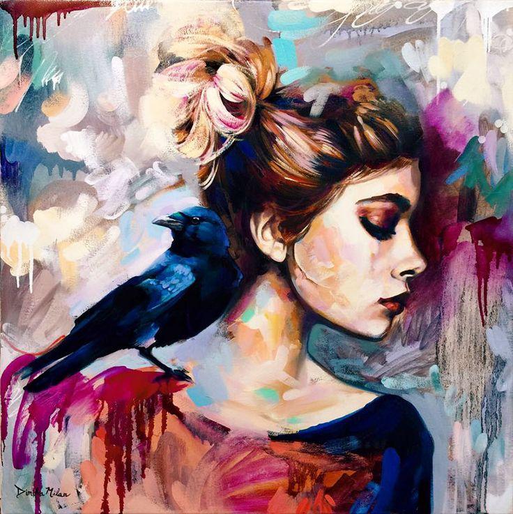 Esta talentosa artista de 16 años convierte sus sueños en pinturas
