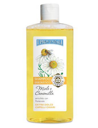 Recensioni cura del sé: Shampoo al miele e alla camomilla de I Provenzali