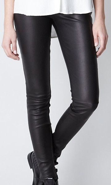 PU Læder Leggings