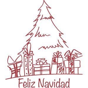 Arbol para decorar. Vinilos para la Navidad! http://www.casavinilo.es/es/7-vinilos-navidad