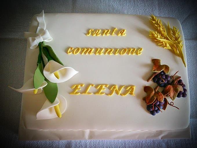 Torta Santa Comunione
