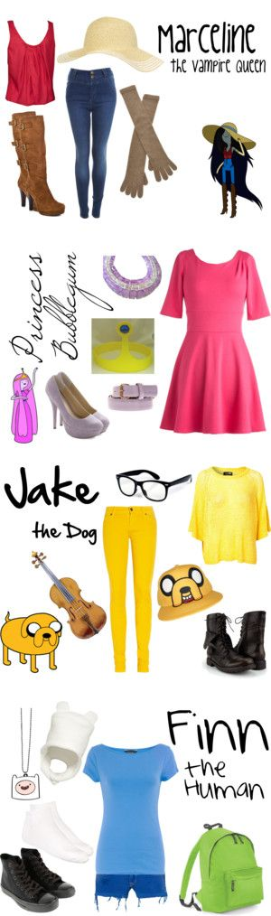 """Adventure Time"" by gir-luvr2929 on Polyvore"