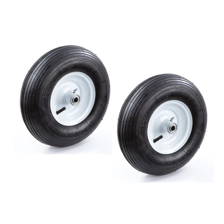 13 in. Pneumatic Wheelbarrow Tire (2-Pack)
