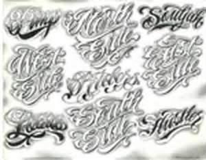 Chicanos Boog Tattoo
