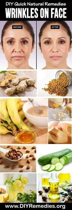 Home Remedies for Wrinkles As we age, our skin looses elasticity and its ability to restore itself, and our bodies produce less of the collagen that keeps skin looking firm, youthful, and vibrant. You're about to learn how you can prevent and reduce the appearance of wrinkles and fine lines without spending tons of money on expensive creams.