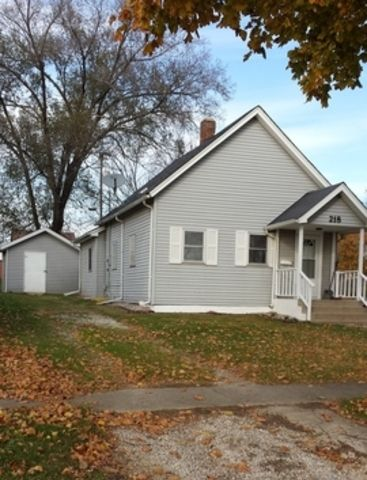 Clean, cozy, move in ready!! This 2 bedroom 1 bath house has all new flooring, fresh paint, new bathroom & kitchen!! Clean dry basement great for storage & a 12x8 shed. Just pack your belongings, and move right in!