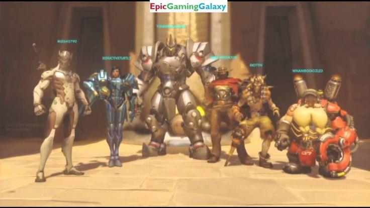 Overwatch Beta Xbox Live Matches Part #8