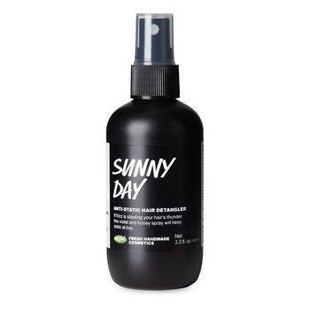 Sunny Day Anti-Static Hair Detangler: If your smooth, shiny hair only lasts as long as the good weather, Sunny Day will keep frizz from stealing your hair's thunder.
