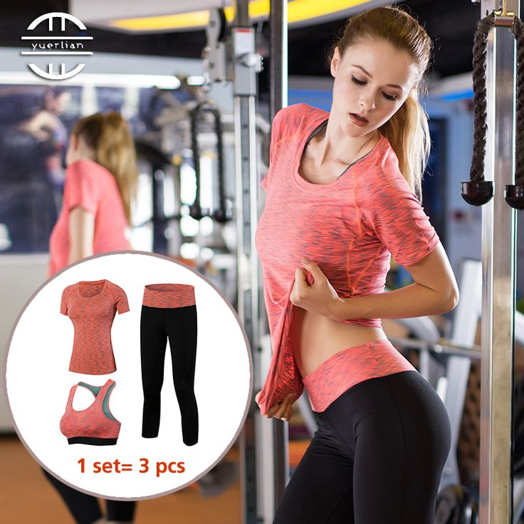 3 Pieces Professional Workout Set Quick Dry   $ 71.55   Item is FREE Shipping Worldwide!   Damialeon   Check out our website www.damialeon.com for the latest SS17 collections at the lowest prices than the high street   FREE Shipping Worldwide for all items!   Get it here http://www.damialeon.com/yel-new-3-pcs-professional-yoga-set-quick-dry-workout-sport-suit-tights-sexy-top-gym-clothes-pant-sports-bra-tracksuit-for-women/        #damialeon #latest #trending #fashion #instadaily #dress…