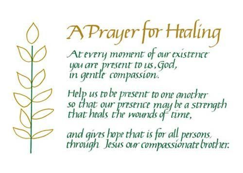 Healing Quotes Awesome 29 Best Prayer For Healing Quotes Images On Pinterest  Healing .