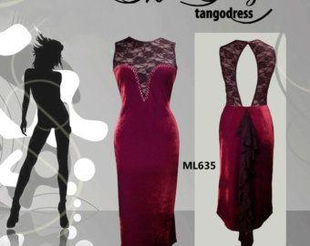 Pannello esterno di ballo di Tango vestito di di TheGiftofDance
