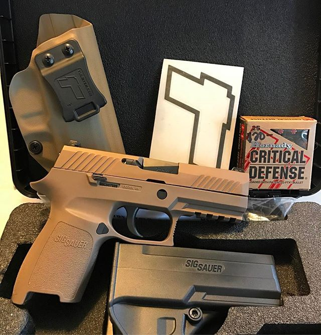 Sig Sauer P320 9/40 Compact/Carry IWB/AIWB Kydex Holster - Profile Holster