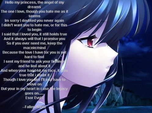 Sweet Girl Picture Wallpaper Anime Poem Random Things Poems Anime Movie Posters