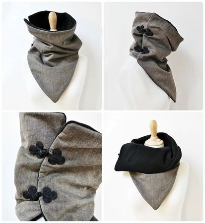 snood pointu                                                                                                                                                                                 Plus