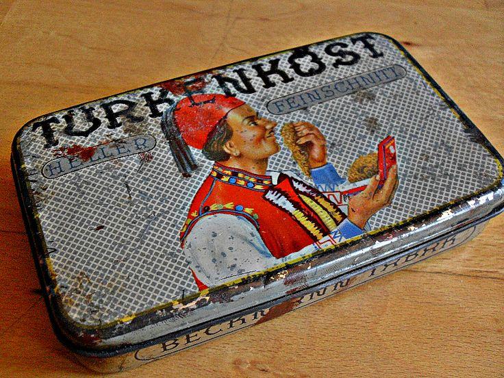 Antike+Shabby+Tabakdose+mit+wunderschöner+Patina+von+Mont+Klamott+-+seltene+Vintage+Einzelstücke:+Liebzuhabendes,+Verspieltes,+Tickendes,+Klunkerndes,+Zauberhaftes,+Antikes,+Kurioses,+Schmuck+&+Uhren++auf+DaWanda.com