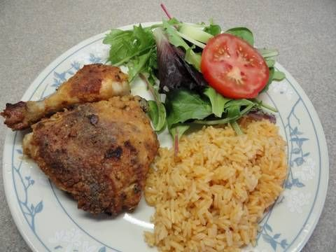 """Made-over Oven """"Fried"""" Chicken"""