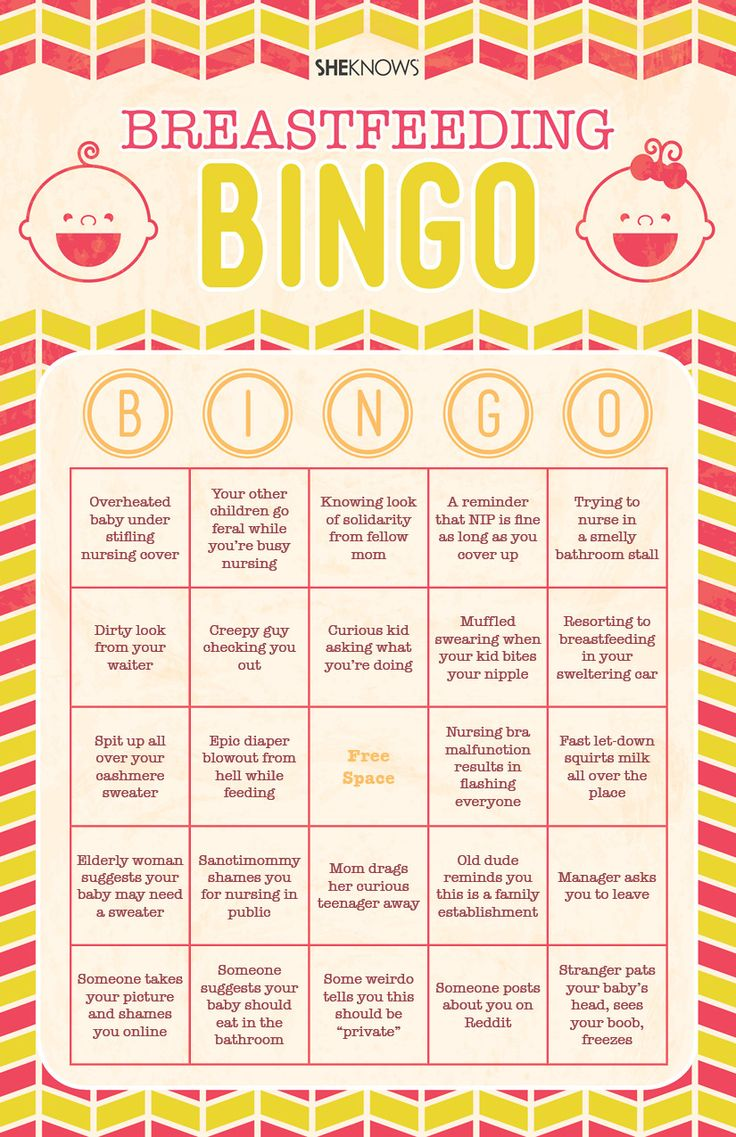 Breastfeeding and fertility fertility breastfeeding advice quot - For You Moms Nursing In Public Enjoy Public Breastfeeding Bingo To Pass The Time