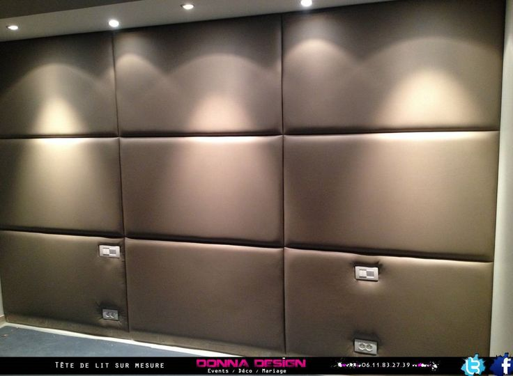 cration sur mesure de mur capitonn matelass pour restaurant bar discotheque appartement - Solution Anti Bruit Appartement