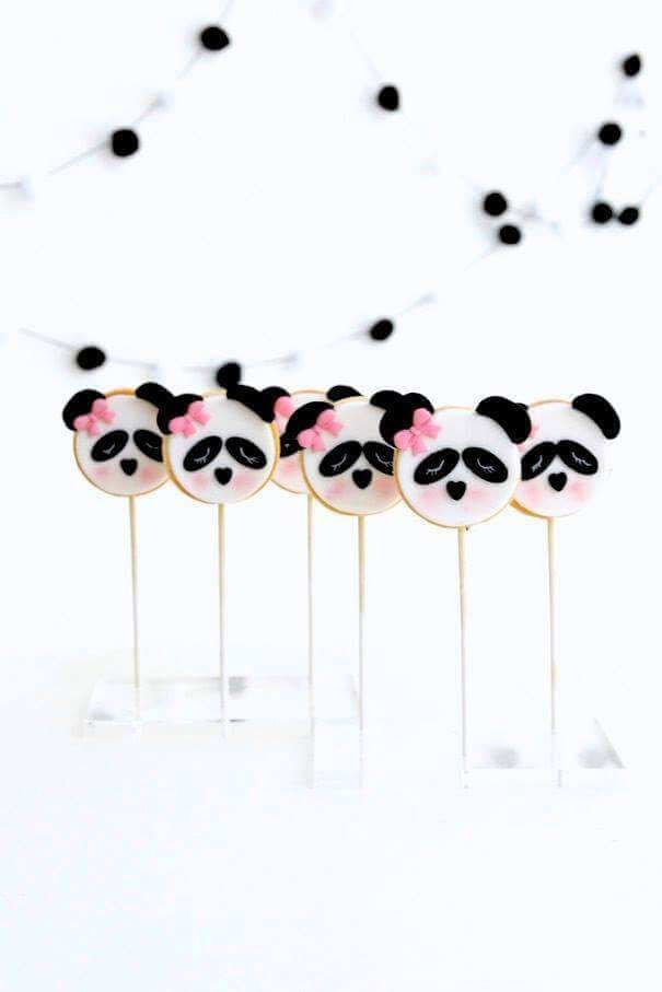Panda Temalı Parti Fikirleri, Siyah Beyaz Doğum Günü Fikirleri, Doğum Günü Fİkirleri, Şık Doğum Günü Tasarımı,