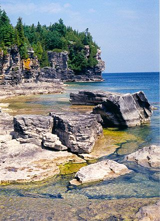 One of my favourite places on Earth.     Bruce Peninsula National Park