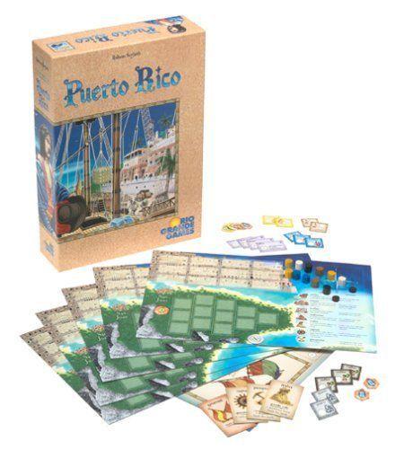 Puerto Rico Classic Family Board Game Multirole Brilliant Mechanics Colonies New #RioGrandeGames