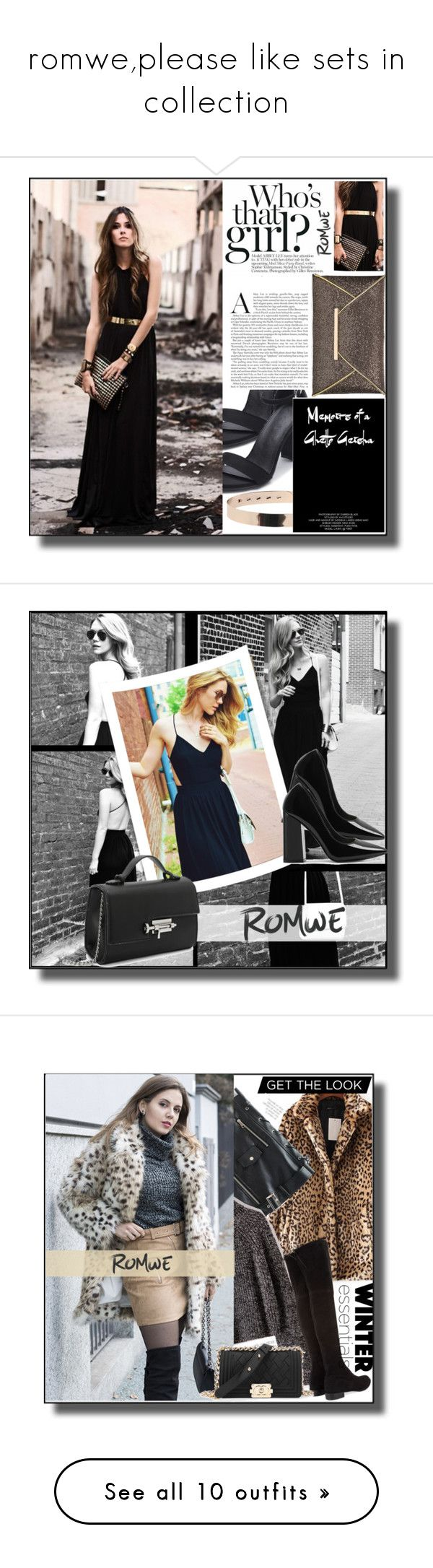 """""""romwe,please like sets in collection"""" by smajicelma ❤ liked on Polyvore featuring gift, sale, Stuart Weitzman, AYTM, Chanel, Pier 1 Imports and H&M"""