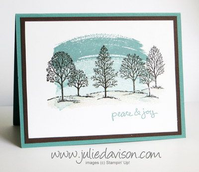 Julie's Stamping Spot -- Stampin' Up! Project Ideas Posted Daily, Lovely as a Tree and Work of Art