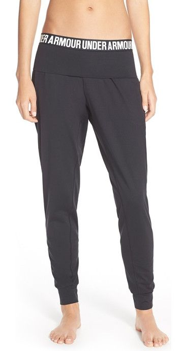 On SALE at 34% OFF! 'downtown' knit jogger pants by Under Armour. Make this your best workout yet with these lightweight joggers featuring four-way stretch construction that improves ...