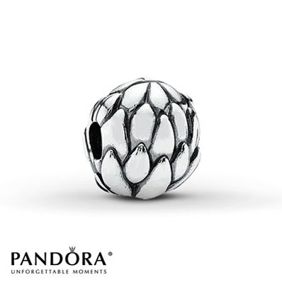 Pandora Clip Lotus Flower Sterling Silver , HAVE IT!
