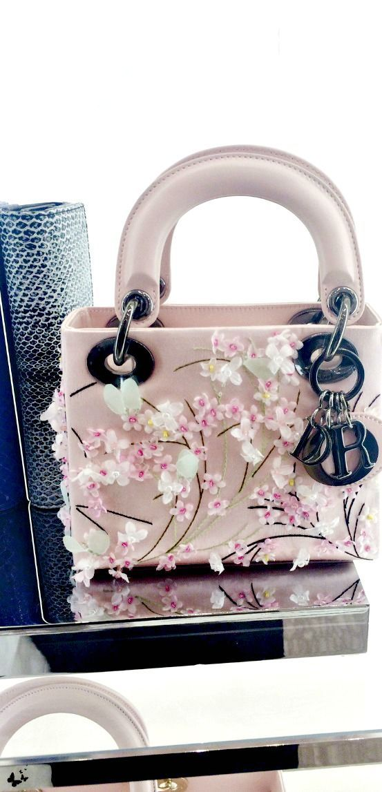 ~Dior | The House of Beccaria#  I would take off the logo and use this pretty purse everyday !!  :)