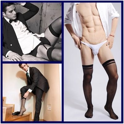 >> Click to Buy << 2017 sexy gay men barreled slim stockings black stocking sexy Gay Underwear male casual socks men gentleman men stockings #Affiliate