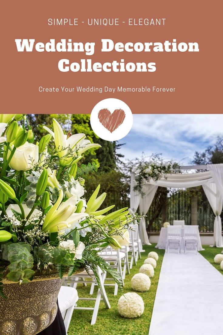 Wedding decorations list  Liven Up An Individualus Wedding Party Decorations With One Of These