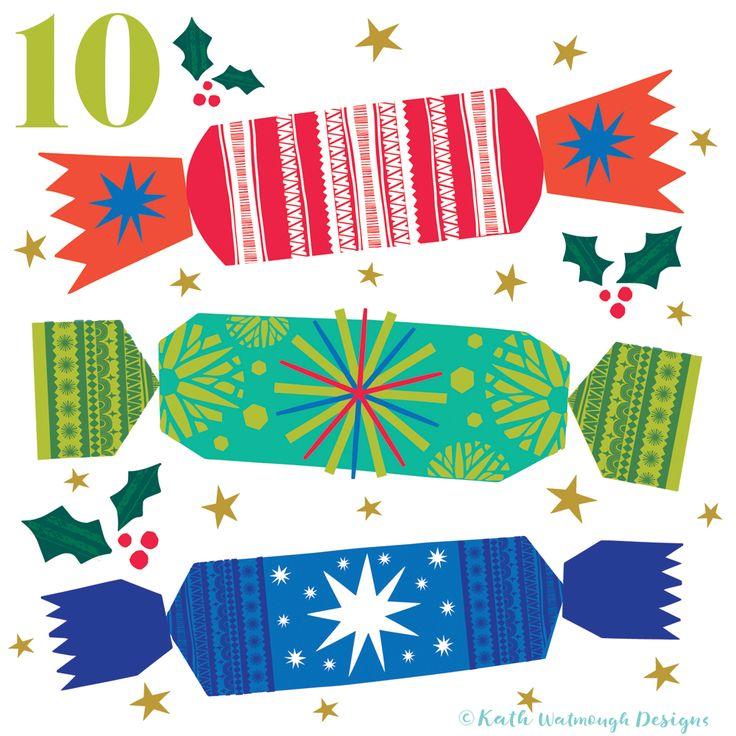 Christmas crackers for day 10.  #makeitindesign #christmascrackers #advent #adventcalendar #adventcalendarart #adventchallenge2017 #adventcalendar2017 #illustration #christmascountdown #christmascalendar #christmas #freelance #freelancedesigner #christmas2017 #kathwatmoughdesigns https://www.instagram.com/kathwatmough