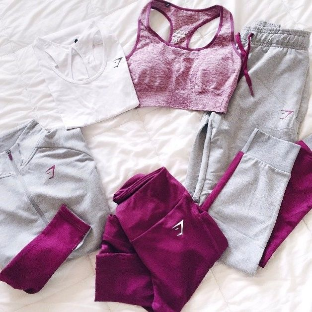 Can we all just take a second to appreciate /la/.petite.fitthe's plum collection  (Shop link in bio)  #Gymsharkwomen #Gymshark