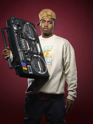 Nas taking it back to the BOOMBOX