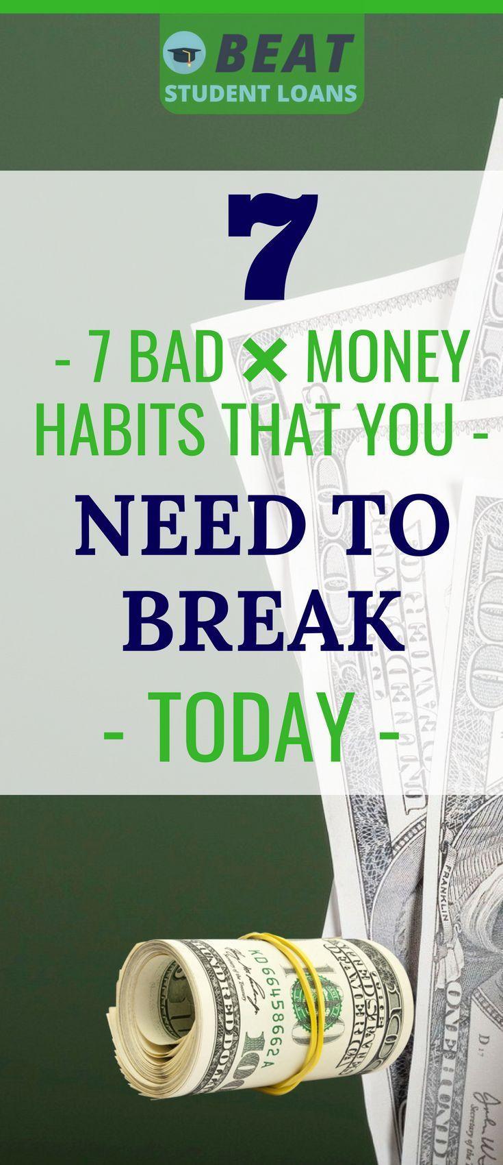Watch Bad Money Habits You Can Break video