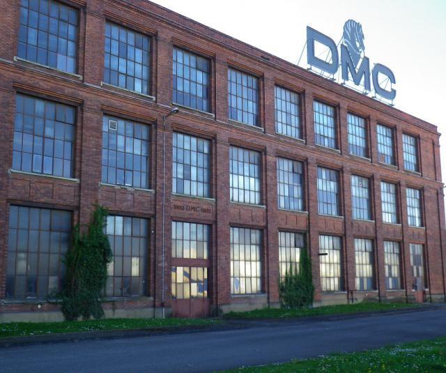 Tour the DMC thread factory in Mulhouse, Alsace, France