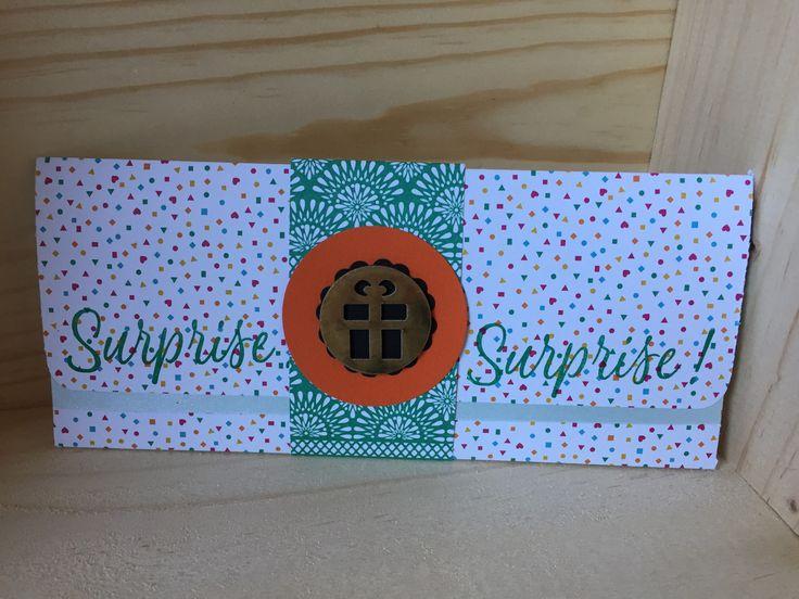 pochette à billets/chèques/places de concert : Emballages cadeaux par sabpaper