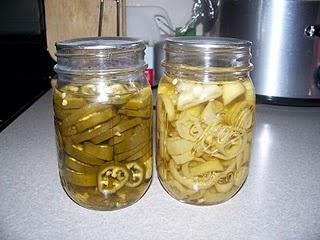 pickled pepper rings