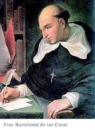"""284 – (1542)  Las protestas en España del religioso Fray Bartolomé de las Casas dan resultado, se promulgan las """"Leyes Nuevas"""", que tratan de mejorar la condición de los indígenas americanos y eliminar gradualmente las encomiendas."""