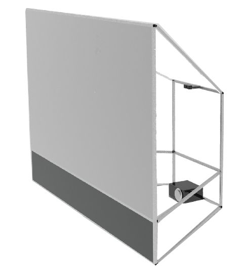 Rear Projection Screen <b>rear projection screen</b> and enclosure - foto master