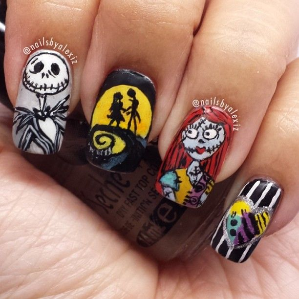 Halloween by nailsbyalexiz #nail #nails #nailart