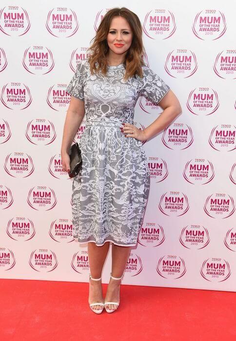 Kimberley Walsh during 2015 Tesco Mum of the Year Awards in London...