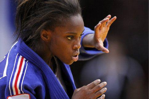 Clarisse Agbegnenou, double championne d'Europe