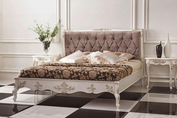 Элитная мебель из Китая: Спальня в стиле барокко Спальня в стиле барокко, к...