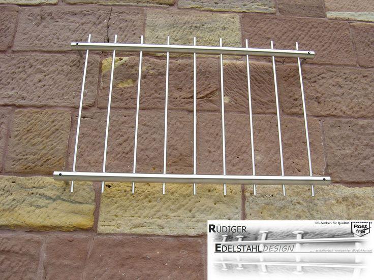 FGM-004 Edelstahl Fenstergitter Sicherheitstechnik Einbruch Fenstersicherung